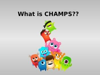 CHAMPS for Students | behavior management | Champs classroom