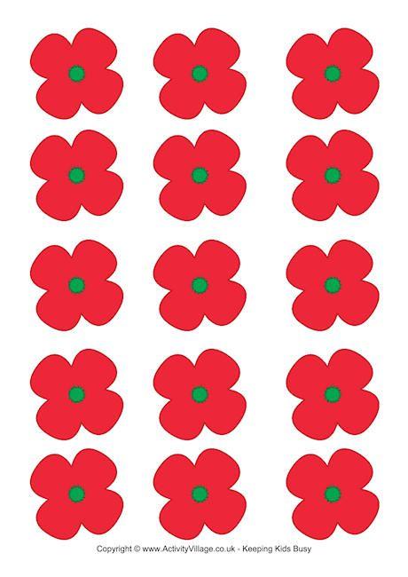 Wild image throughout poppy printable