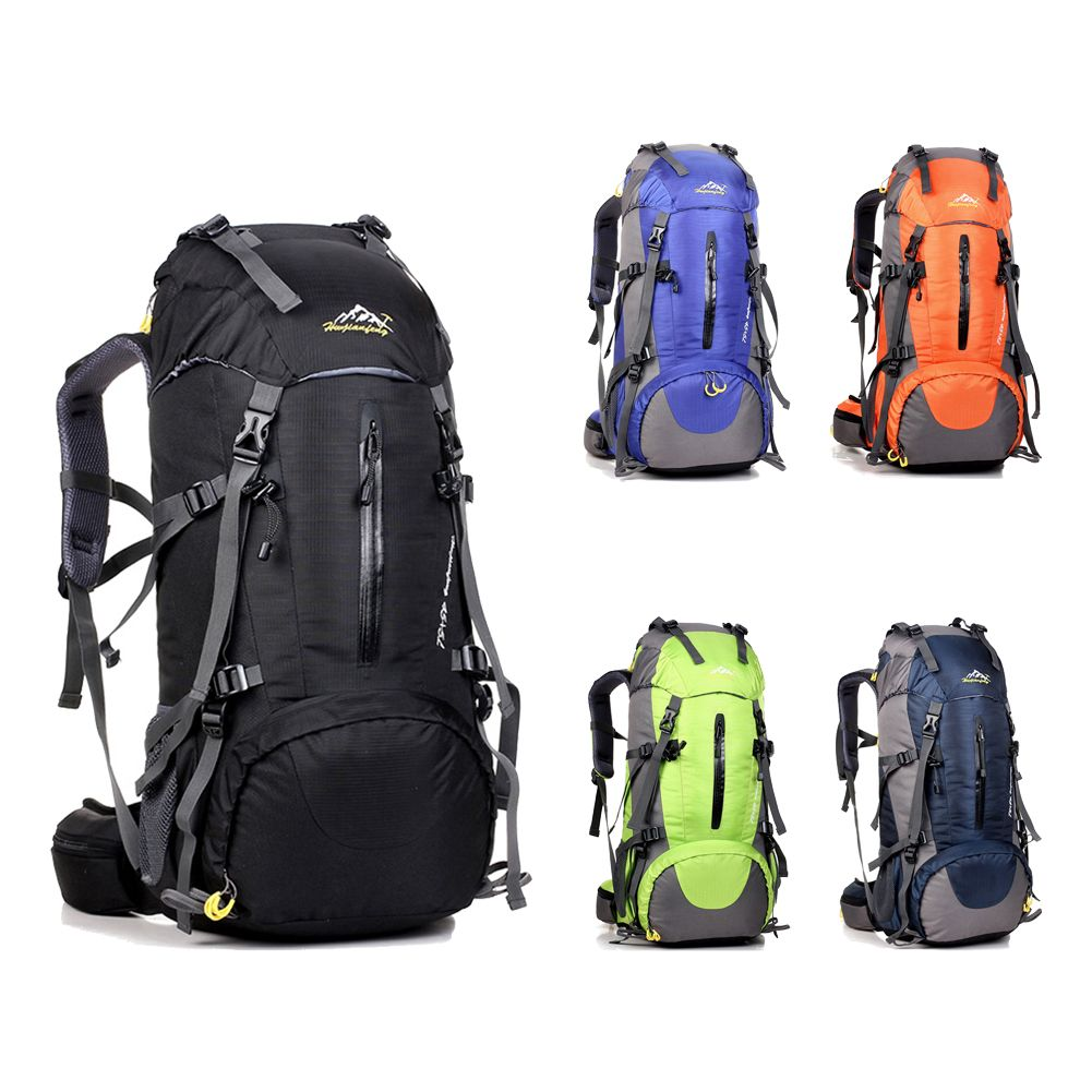53da8a5971e5 50L Large Waterproof Travel Bags Rucksack Men Nylon Outdoor Camping Hiking  Bicycle Sports Backpacks Bag Women Climbing Backpack    FREE Worldwide  Shipping!