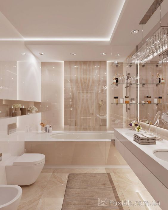 15 Modern design for bathroom decoration renovation - Serif, # Check more at https://baby.cre...