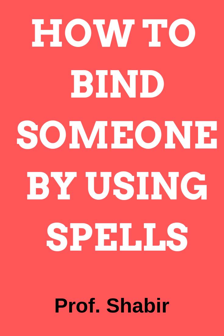 free binding love spells that work fast