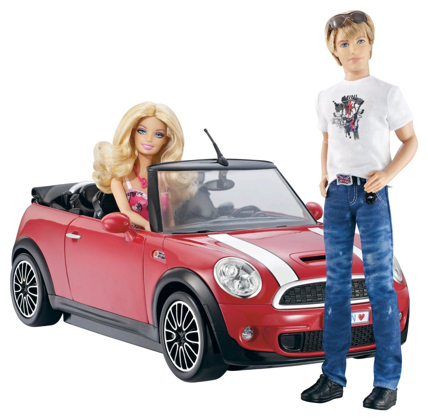Barbie W3157 Ken Mini Cooper Mattel Amazon Es Juguetes Y