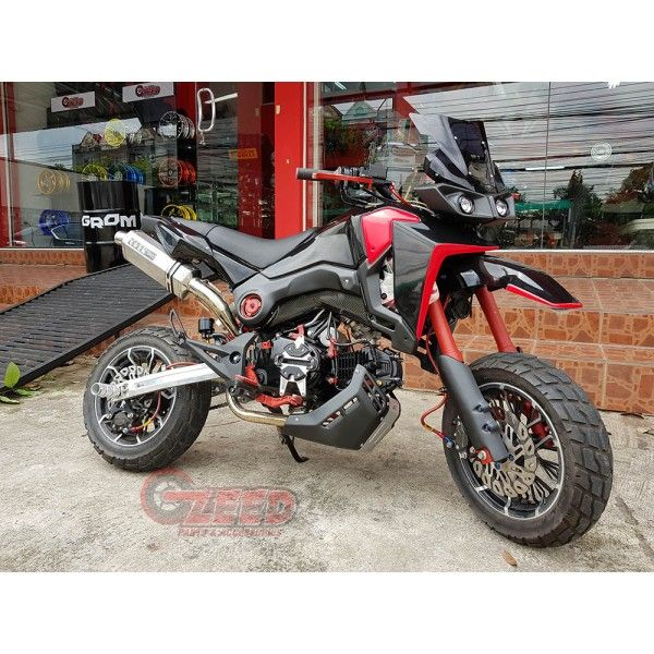 Honda Grom Msx125 Snb Motocross Body Kit Msx125 Grom Hondagrom Hondamsx125 Honda Grom125 Msx125sf Honda Grom Honda Msx 125 Pit Bike
