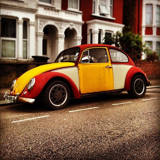 The inspiration for the VW Polo Harlequin. VW volkswagen