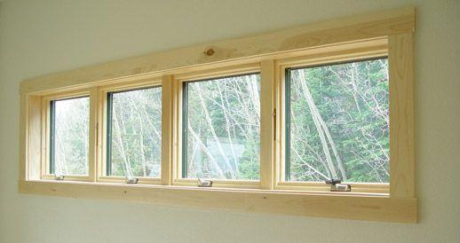 Rustic Maple Window Trim Quot Base Casing Underneath