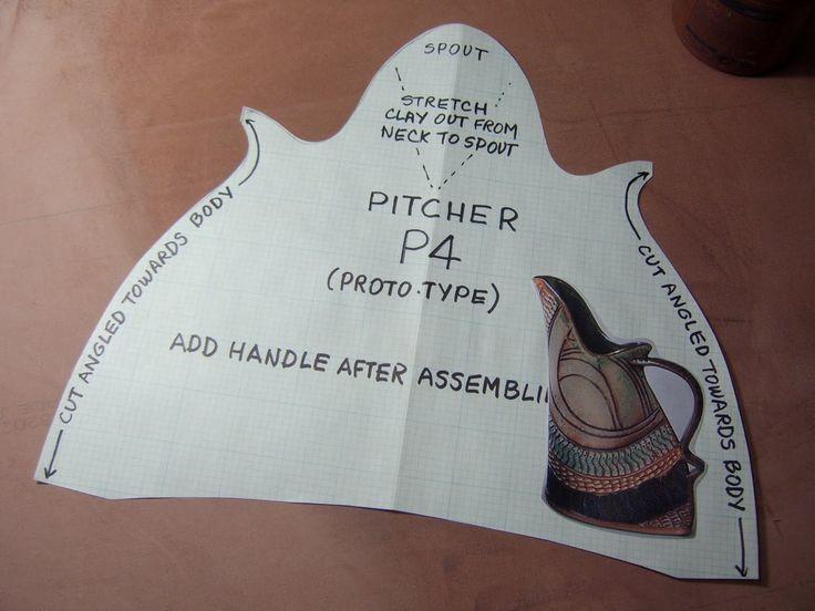 Pitcher 4 Template #slabpottery