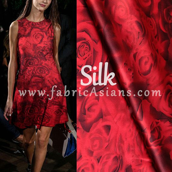 Lustrous fabric for evening dresses