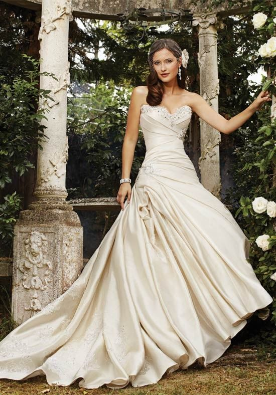 Kind Of Like This One Don T But There Was Something About It Sophia Tolli Y21362 Marigold Bella Bridal Boutique