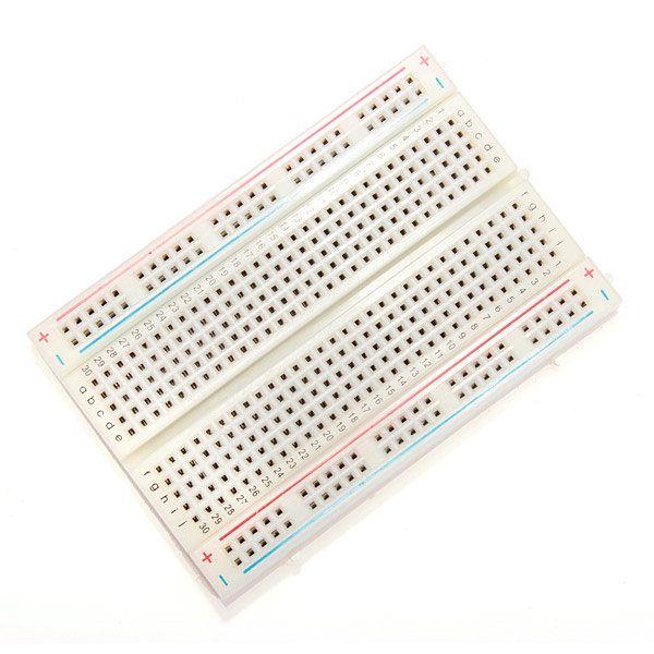 Solderless Breadboard 400 Points Solderless PCB Bread Board Prototype Arduino