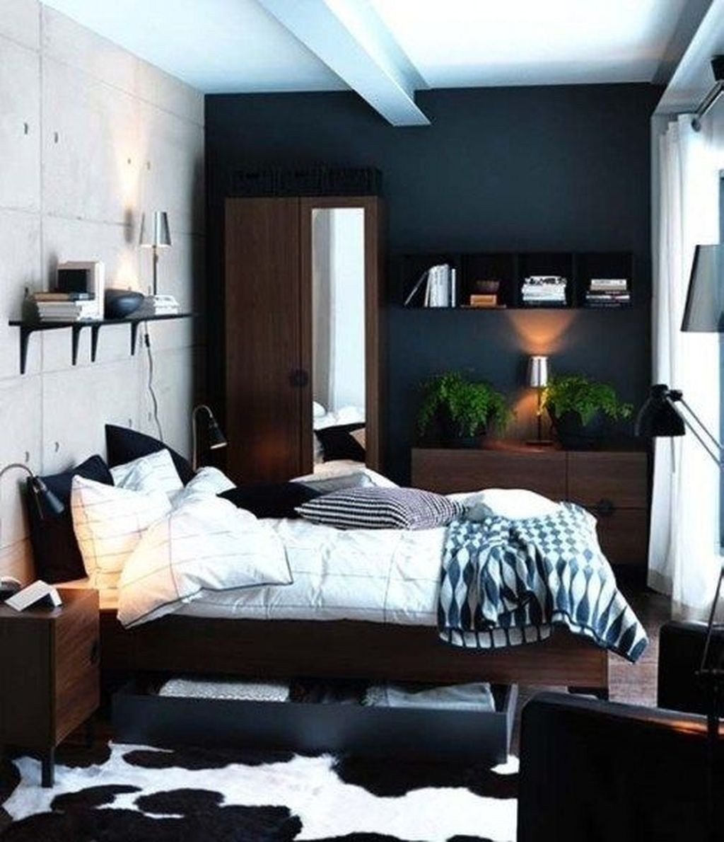 45 Cool Small Bedroom Ideas For Couple Home Design Small Bedroom Interior Ikea Bedroom Design Small Bedroom Decor
