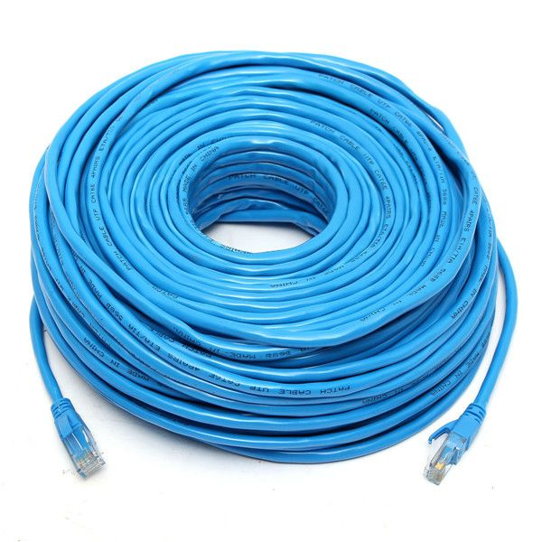 50M/164Feet RJ45 CAT6 CAT6E Ethernet Internet LAN Wire Network Cable ...