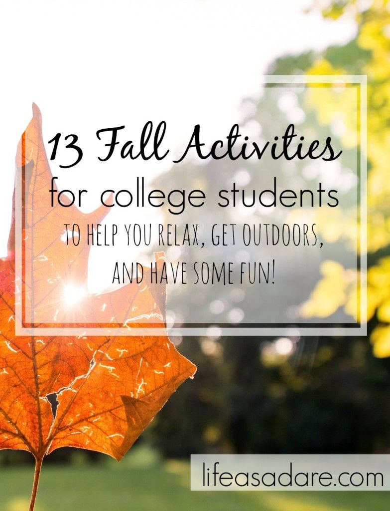 Fall is such a gorgeous season, and here are some great ideas to get out there and have fun! Great date ideas!