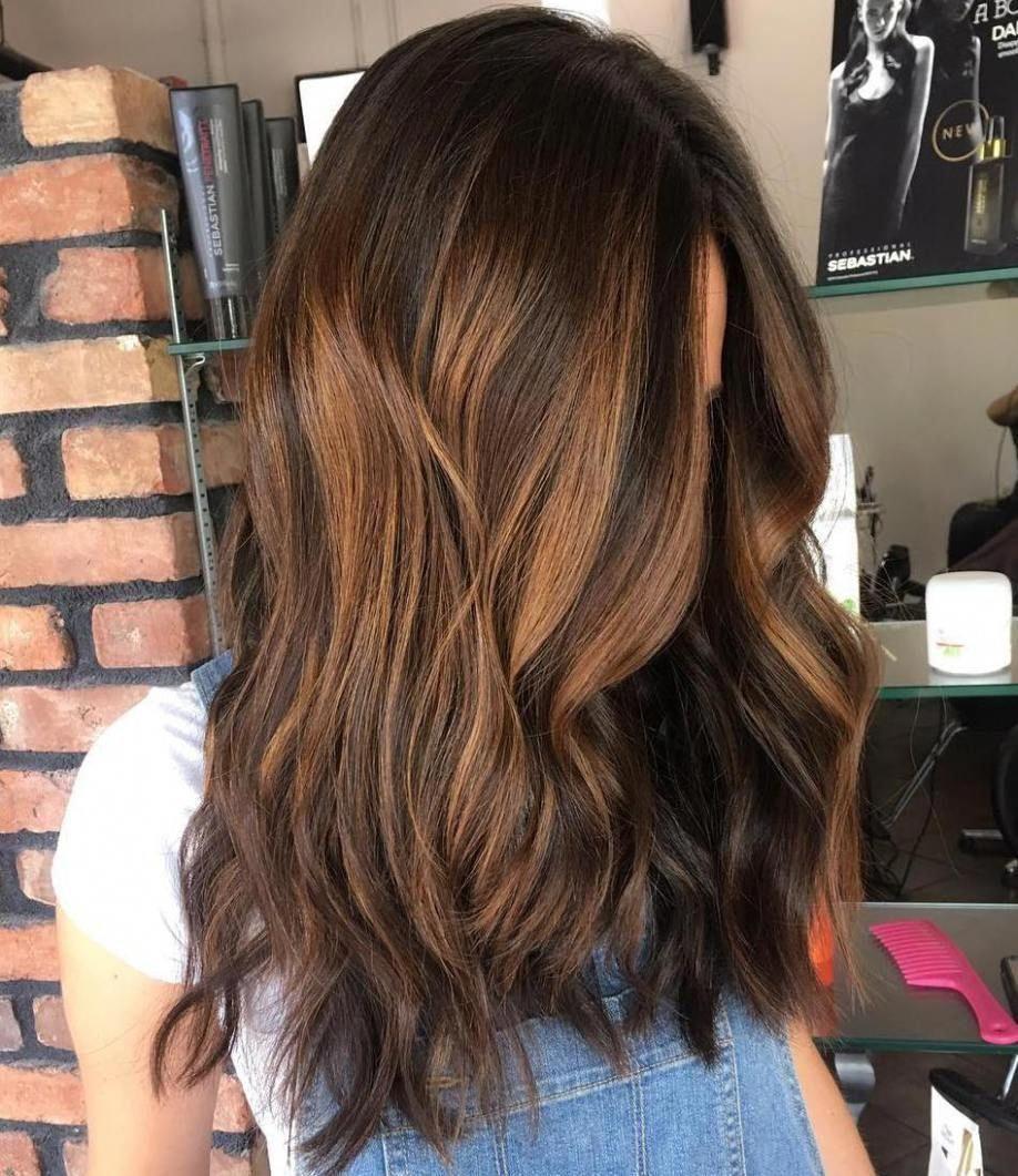 20 Sweet Caramel Balayage Hairstyles For Brunettes And Beyond Black Hair Balayage Caramel Balayage Caramel Hair