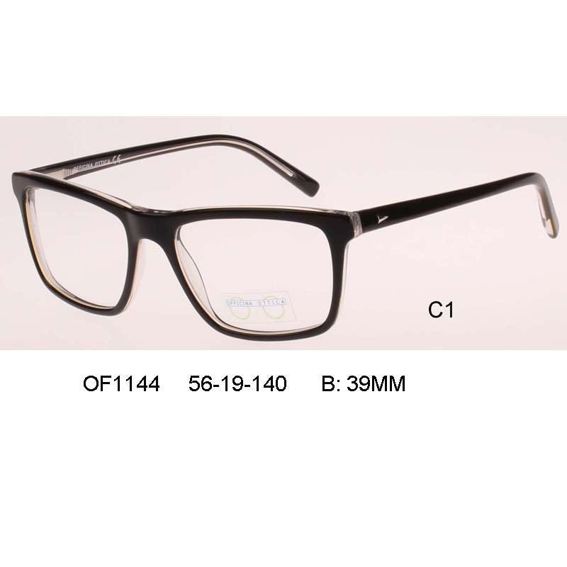 square clear glasses man business big size Eyeglass Male Optical ...