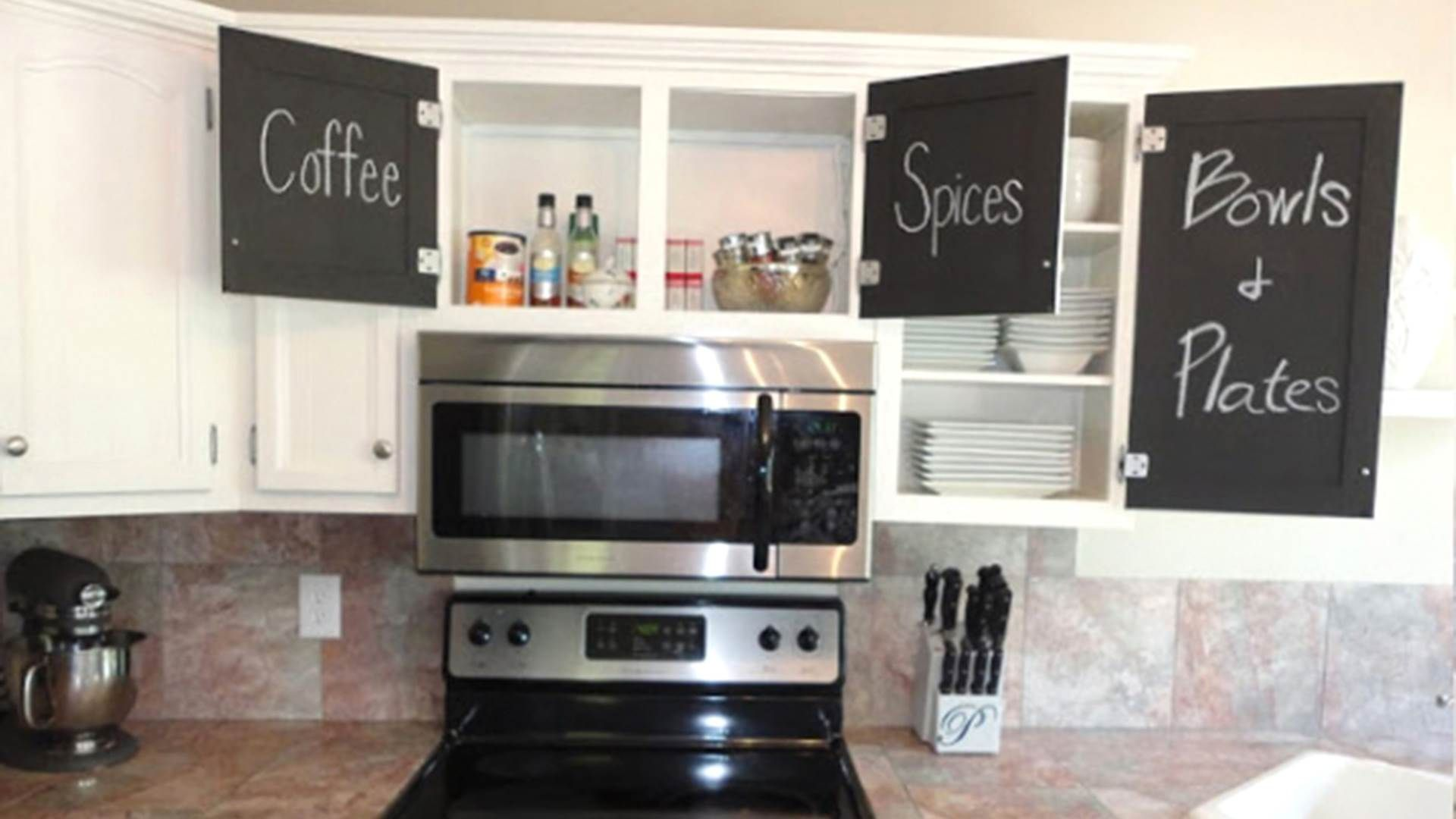 Decor Tips Diy Chalkboard Sign For Chalkboard Kitchen With Diy Chalkboard And White Kitchen Kitchen Cabinets Makeover Home Kitchens Inside Kitchen Cabinets