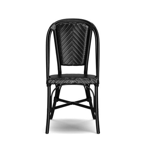 Fine La Coupole Indoor Outdoor Dining Table Round Black Granite Ibusinesslaw Wood Chair Design Ideas Ibusinesslaworg