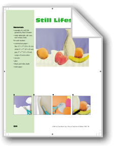 Still Lifes   Differentiated instruction, Online lessons ...