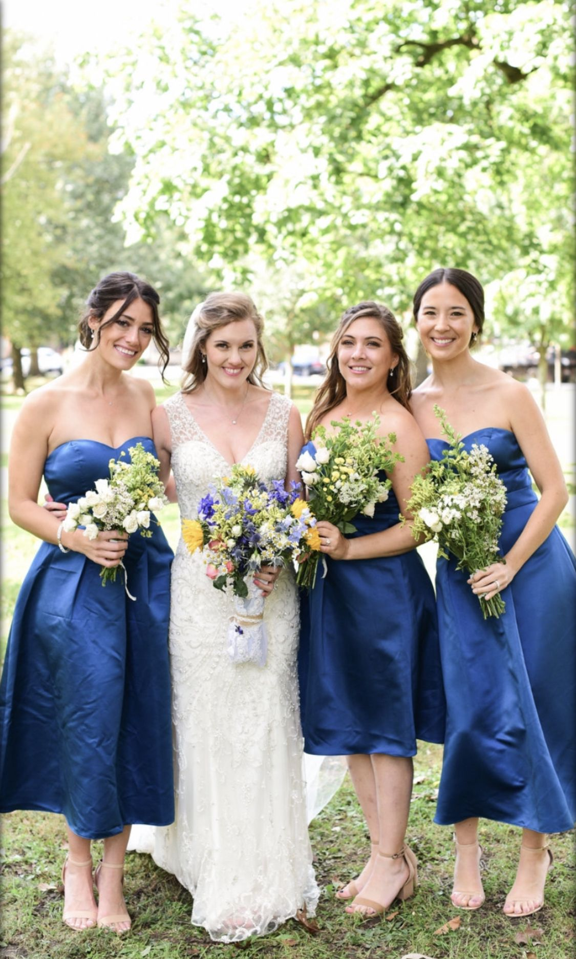 Bridemaid Photo Blue Bridesmaid Dresses Schiller Park