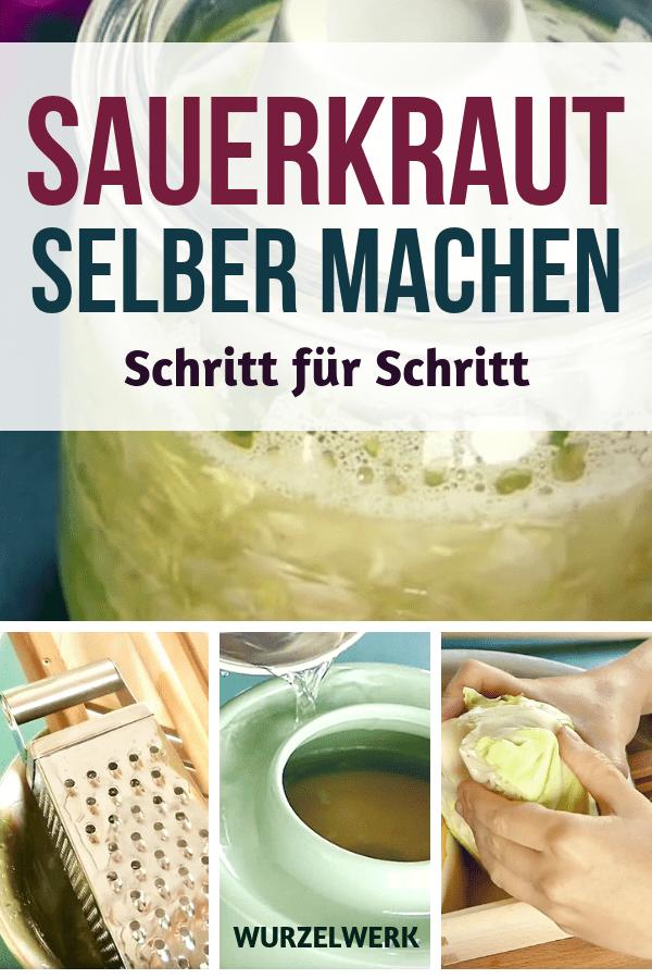 Sauerkraut selber machen im Glas oder Steintopf - Wurzelwerk