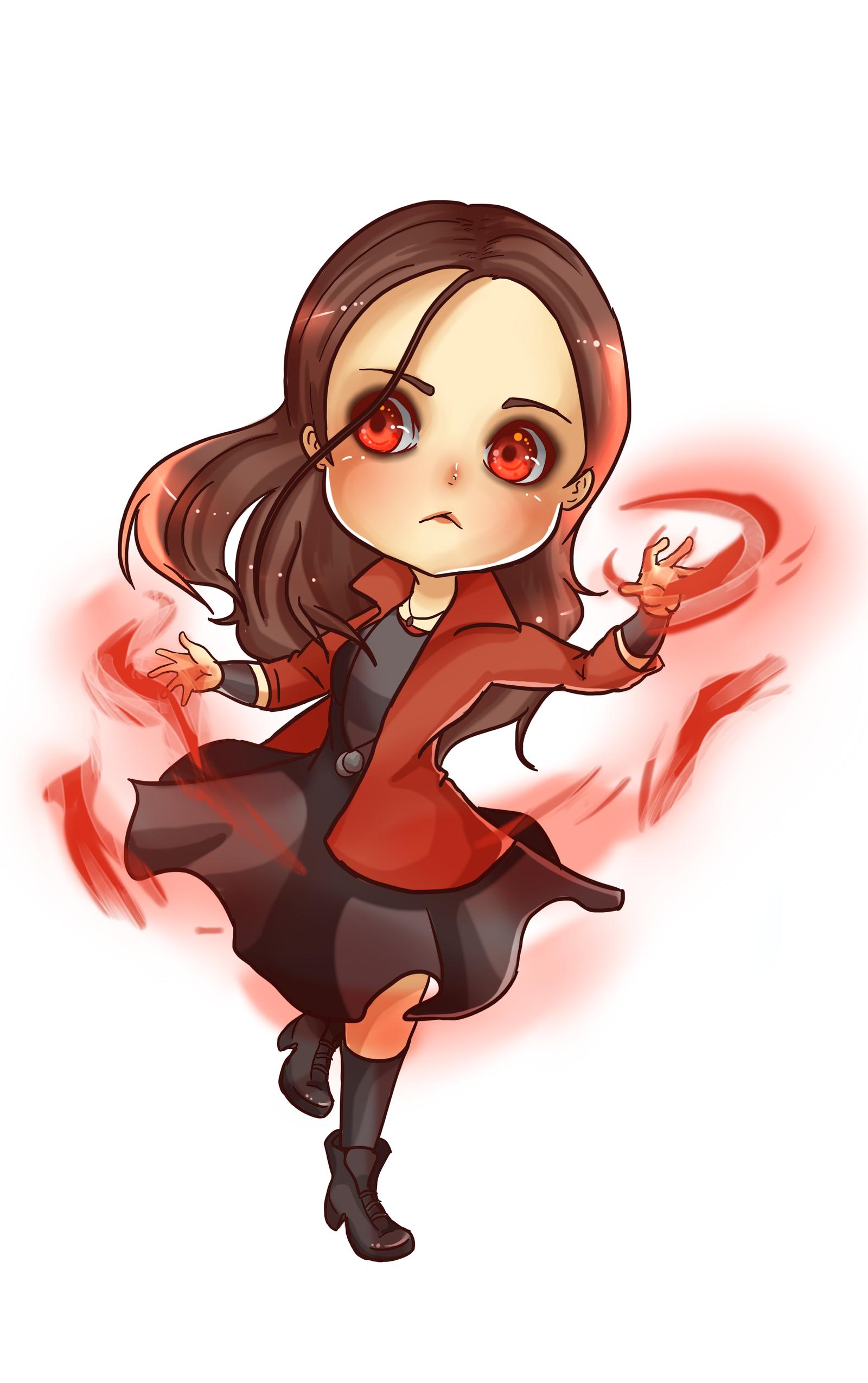 Cute Chibi Scarlet Witch Www Imagessure Com
