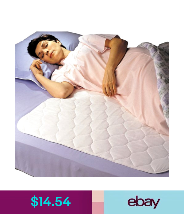 Washable Bed Pads Reusable Mattress Protector Adult Incontinent Pad Waterproof Ebay Fashion Mattress Protector Bed Bed Pads