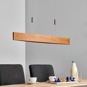 eiche natur led pendelleuchte malu aus holz 4 esstisch lampe pinterest led pendelleuchte. Black Bedroom Furniture Sets. Home Design Ideas