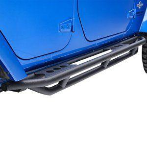 E Autogrilles 51 0345 07 16 Jeep Wrangler Jk Black Textured Rocker Sliders 4 Door Tube Running Boards 0 1 Jeep Wrangler Jk Jeep Jeep Wrangler