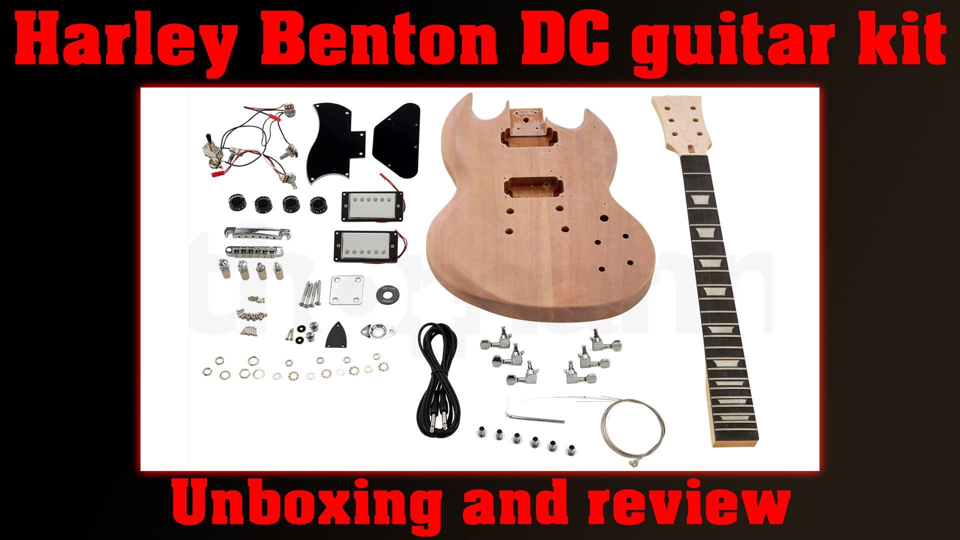 Harley benton guitar kit guitar kits guitar reviews