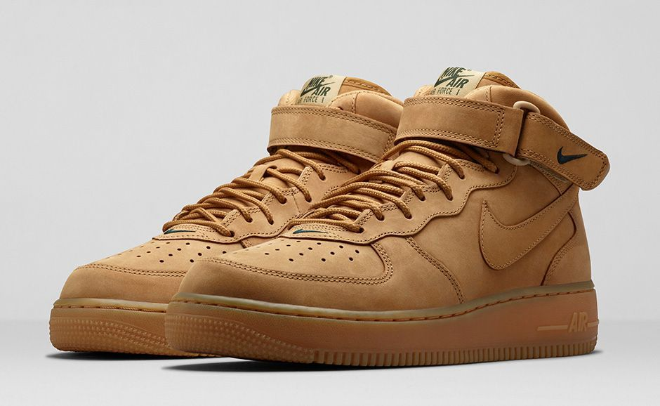 all brown nike air force ones