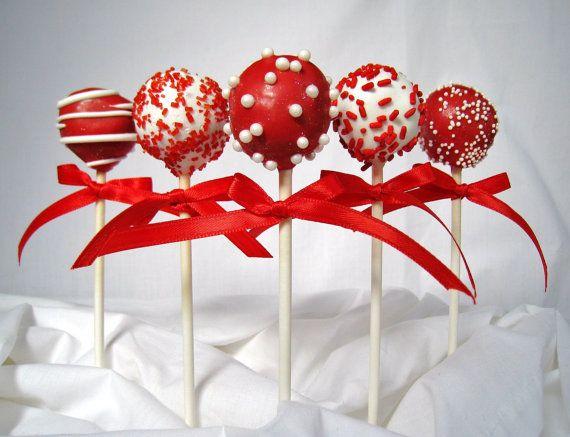 Xmas cake pops,  Go To www.likegossip.com to get more Gossip News!
