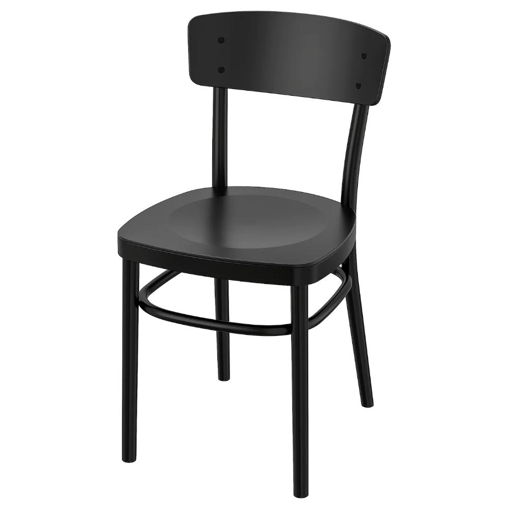 Idolf Chair Black Ikea In 2020 Chair Dining Chairs Ikea
