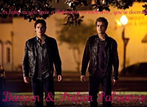The Vampire Diaries | The Salvatore Brothers