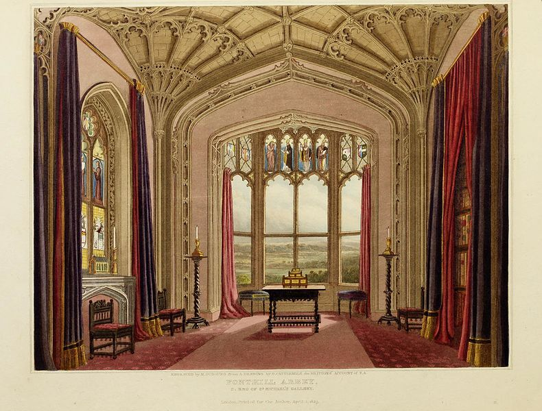 Graphical and literary illustrations of Fonthill abbey, Wiltshire - with heraldical and genealogical notices of the Beckford family (1823)