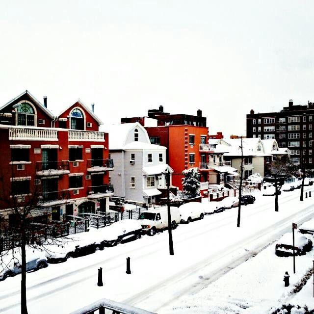 Snowed in!