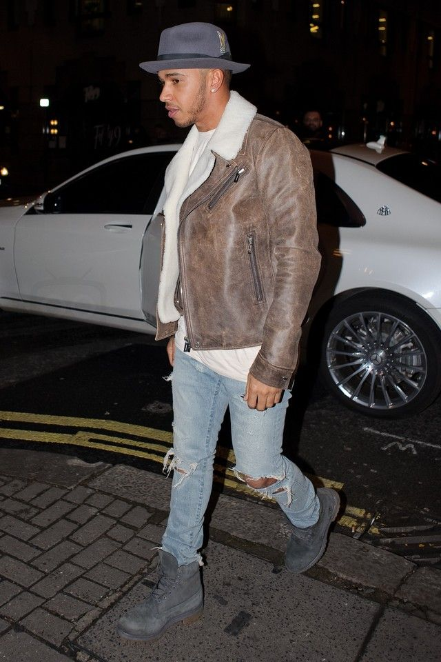 Lewis Hamilton wearing Timberland Timberland Mens Icon 6-Inch Premium Boot 89f00f717e5