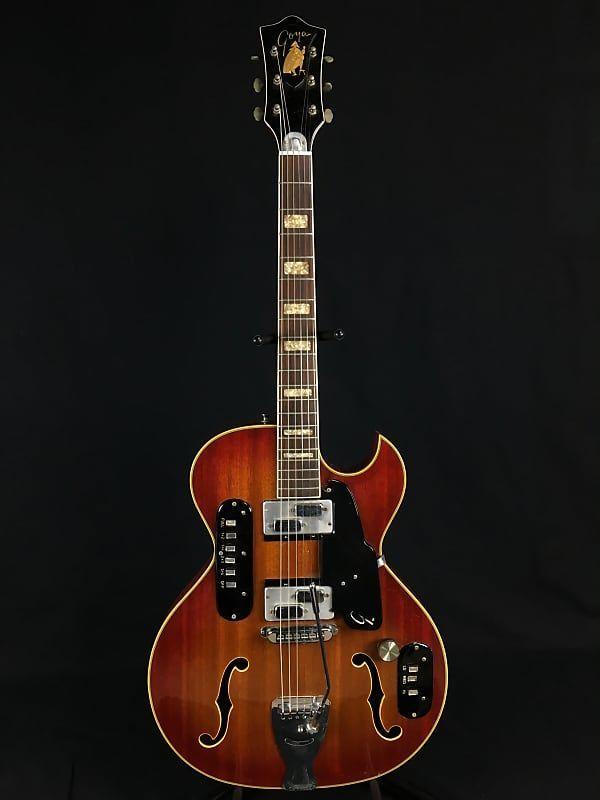 Goya Rangemaster 1960s Red  - Vintage Guitar #vintageguitars Goya Rangemaster 1960s Red  - Vintage Guitar | Reverb #vintageguitars