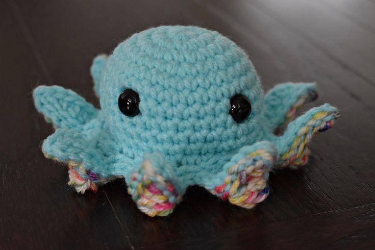 Mini #Octopus, #Crochet #Octopus, #Octopus #Stuffy, #Stuffed #Octopus, #Octopus #Lover #Gift, #Amigurumi, #Plushy, #Octopus #Plushy, #Stuffed #Animal #crochetoctopus