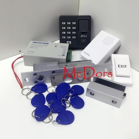 Diy Biometric Fingerprint Rfid Card Access Control Kit Bolt Lock And Bracket Full Fingerp Security Cameras For Home Biometrics Wireless Home Security Cameras