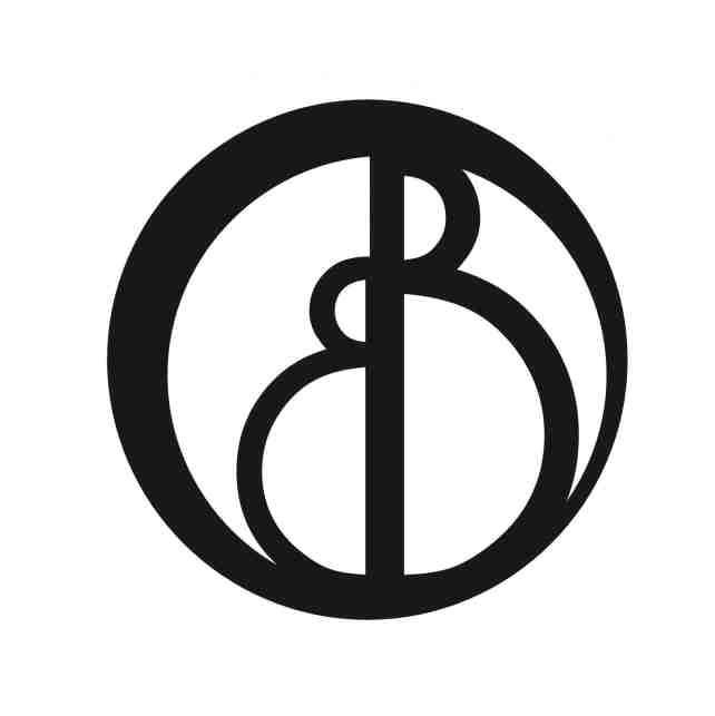 This logo of interlocking circles forming two letter b 39 s for Bb design