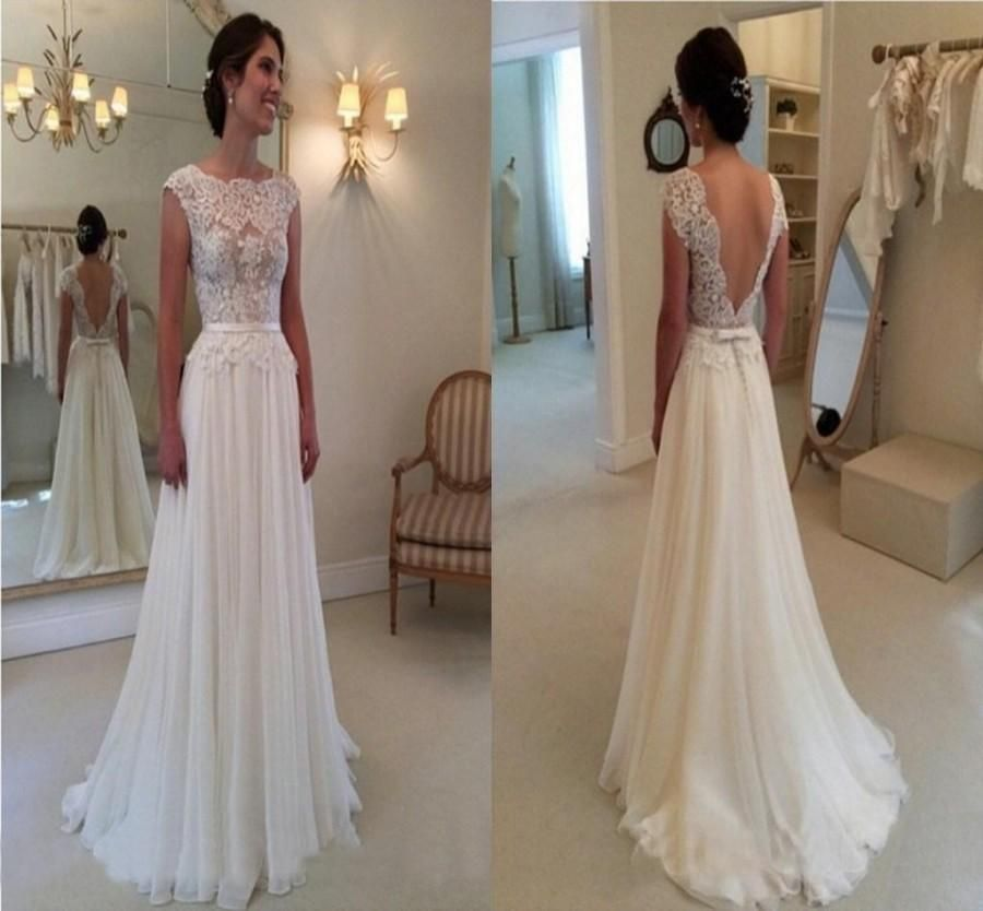 Gorgeous Ivory Wedding Dresses KITTY CHEN Backless Beach Bridal Gowns 2015 Mermaid Sweetheart Appliques Country Court Train Vintage Garden We
