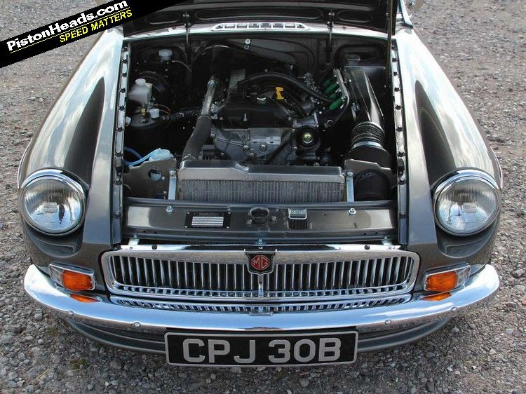Another sick Miata powered MGB from the makers of the LE50 MGB GT