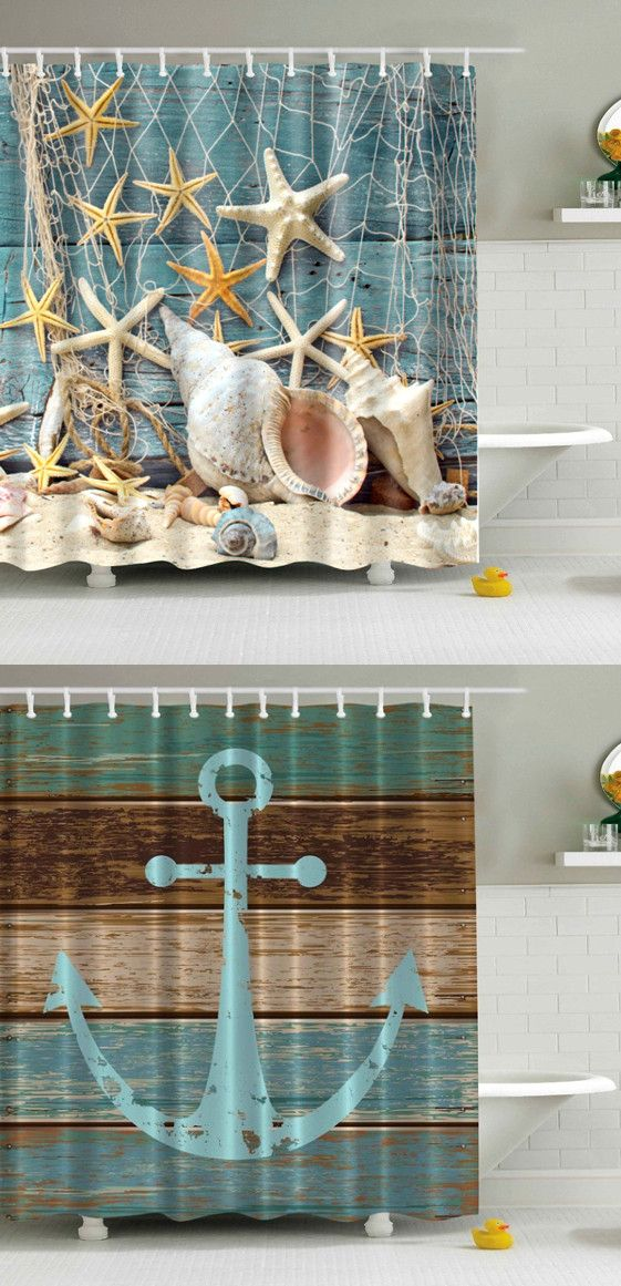 Waterproof Bath Shower Curtain Home Decor Pinterest Banos