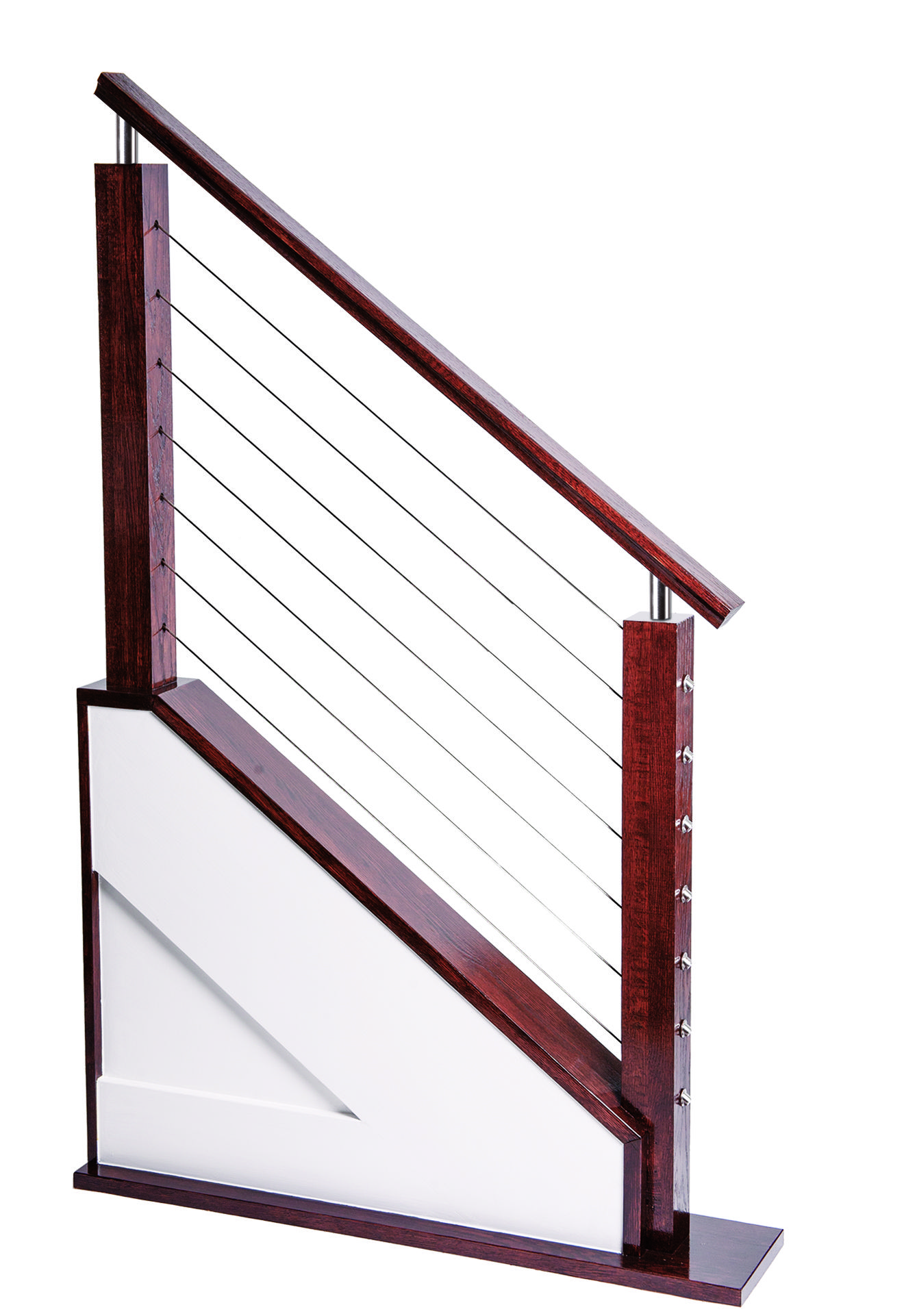 Exterior Stair Handrail Kits