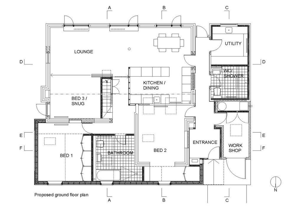 Home Decor Floor Plans Free Shop Building Plans Floor Plans Floor Plan Layout