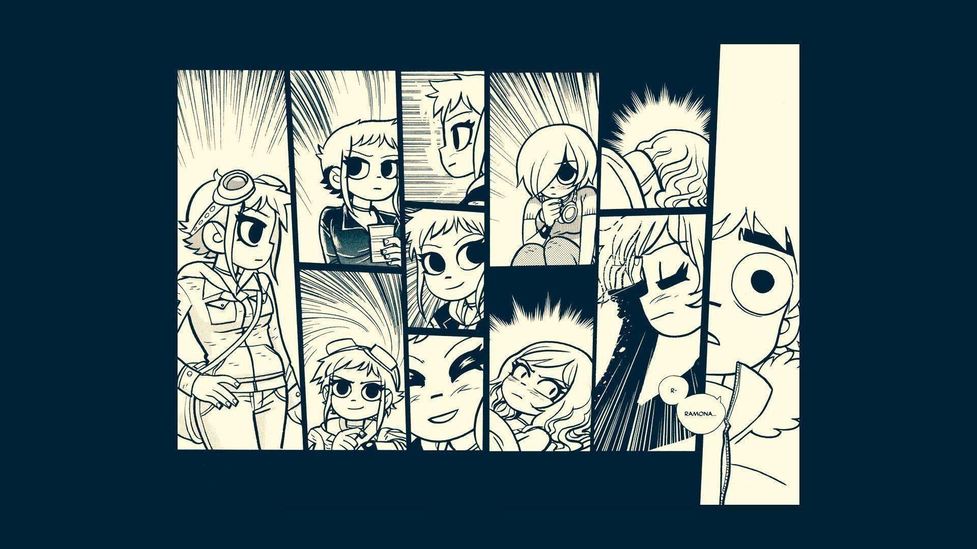 10 New Scott Pilgrim Comic Wallpaper Full Hd 19201080 For Pc