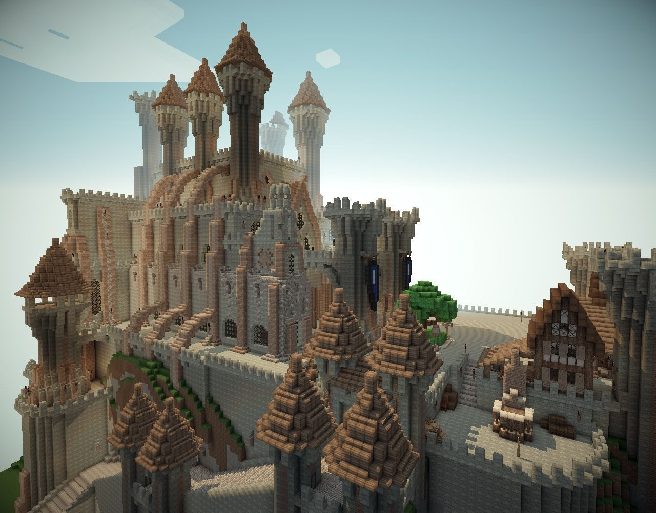 Castle minecraft project minecraft castle seed minecraft pe seeds minecraft city minecraft games
