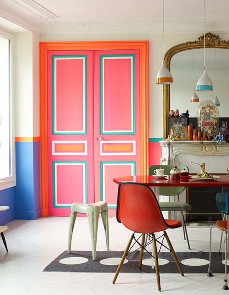 D corer une porte comment d corer une porte avec de la peinture elle d coration peinture - Deco peinture porte interieure ...