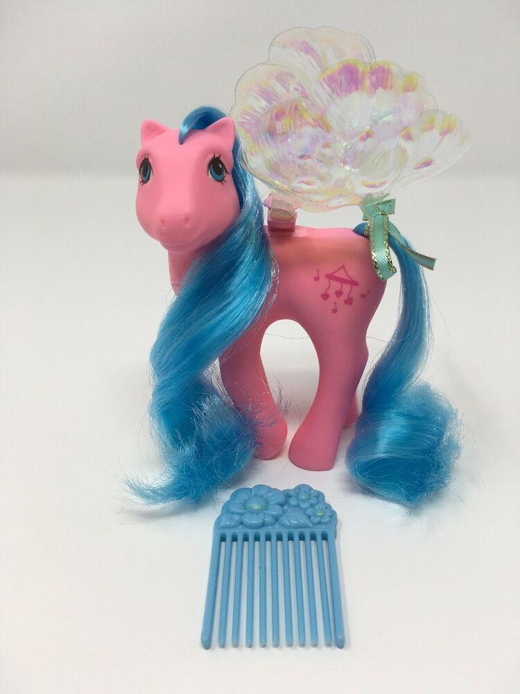 SALE Vintage G1 1987 Windsong  Flutter Pony Original Flower Pick Comb My Little Pony MLP