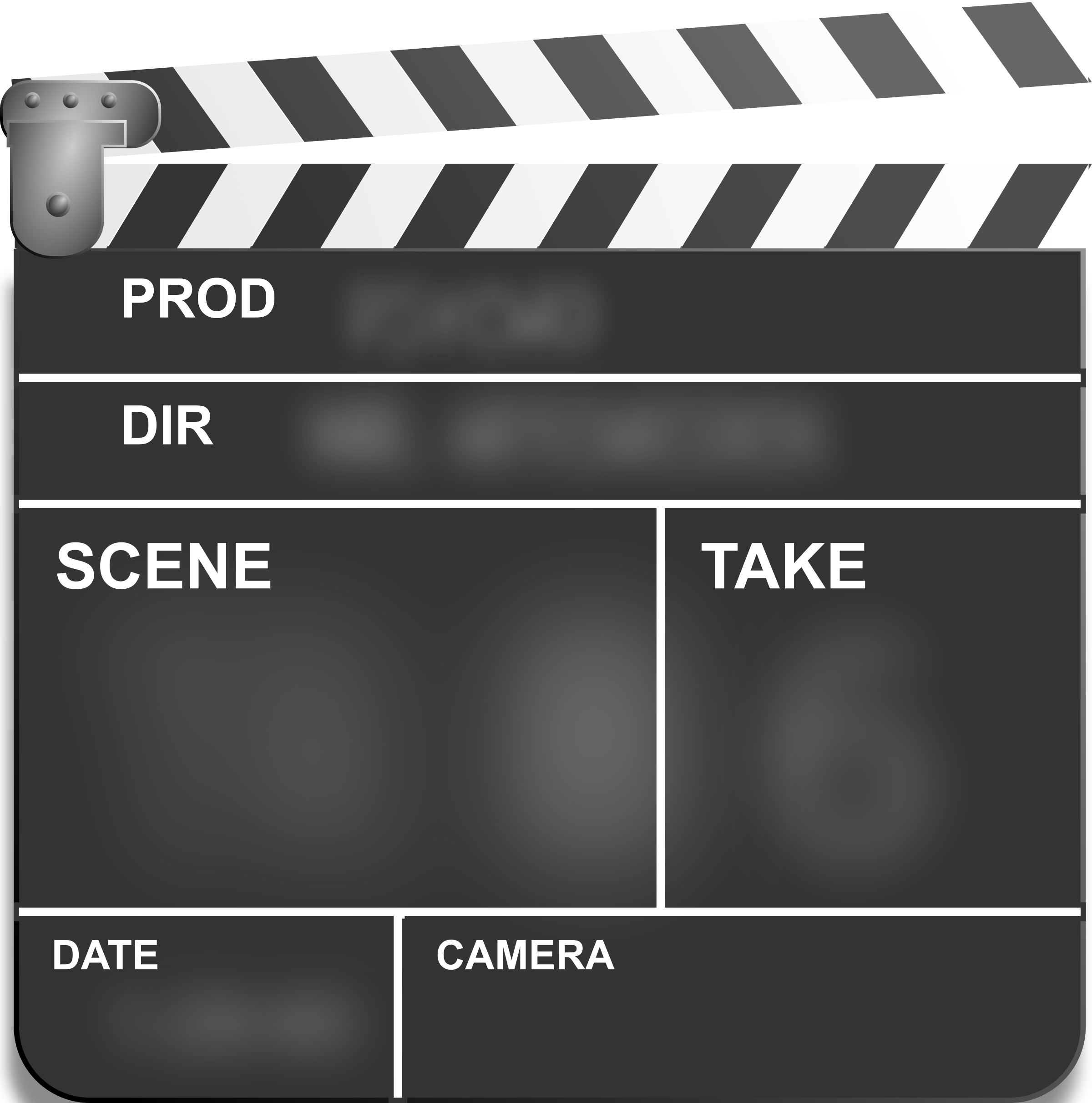 Motion Picture Film Slate Clapper By Studio Hades Free Technology Self Publishing Cool Gifs