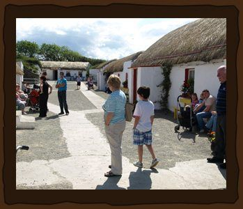 Doagh Famine Village takes you on a journey through Irish life from the 1840s to the present day. For opening hours, tour times & more visit our website »